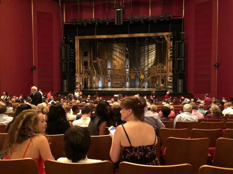 Vista sentada para The Kennedy Center Opera House Secção Orchestra Fila AA Lugar 108