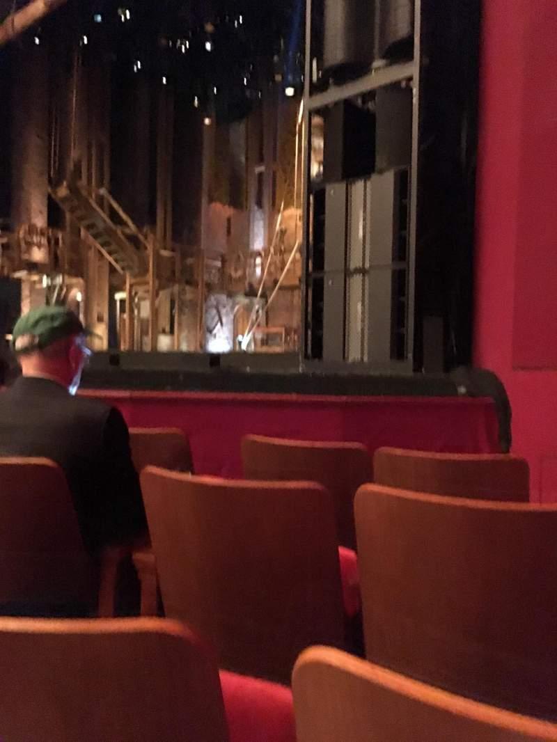 Vista sentada para The Kennedy Center Opera House Secção Orch r Fila H Lugar 20