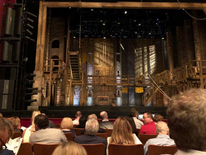 Vista sentada para The Kennedy Center Opera House Secção Orchestra Fila L Lugar 114