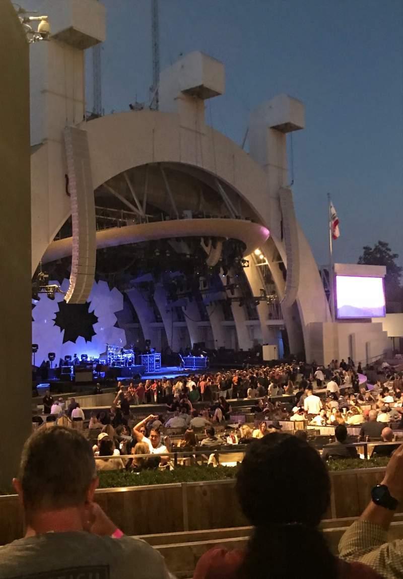 Vista sentada para Hollywood Bowl Secção E Fila 6 Lugar 37