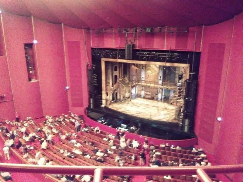 Vista sentada para The Kennedy Center Opera House Secção Tier 2 Fila A Lugar 134