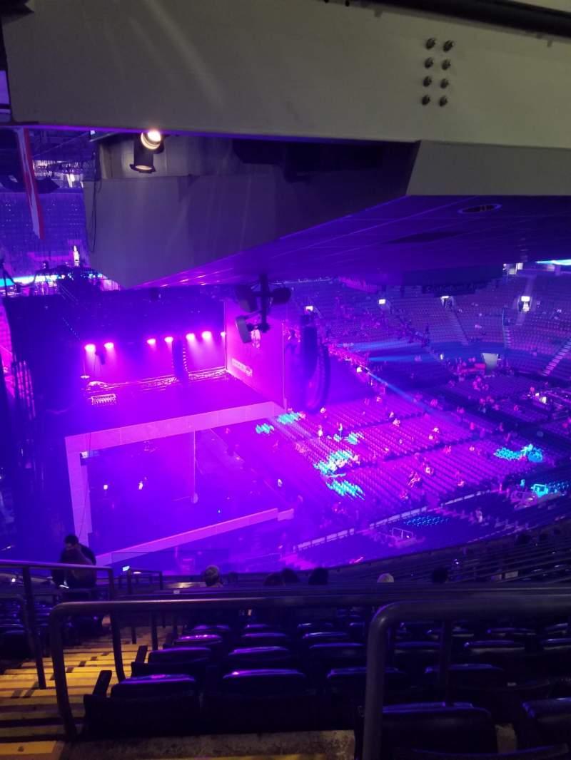Vista sentada para Scotiabank Arena Secção 311 Fila 17 Lugar 32