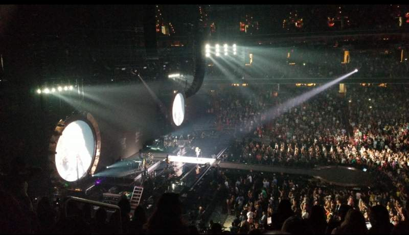 Vista sentada para Capital One Arena  Secção 229 Fila G Lugar 3