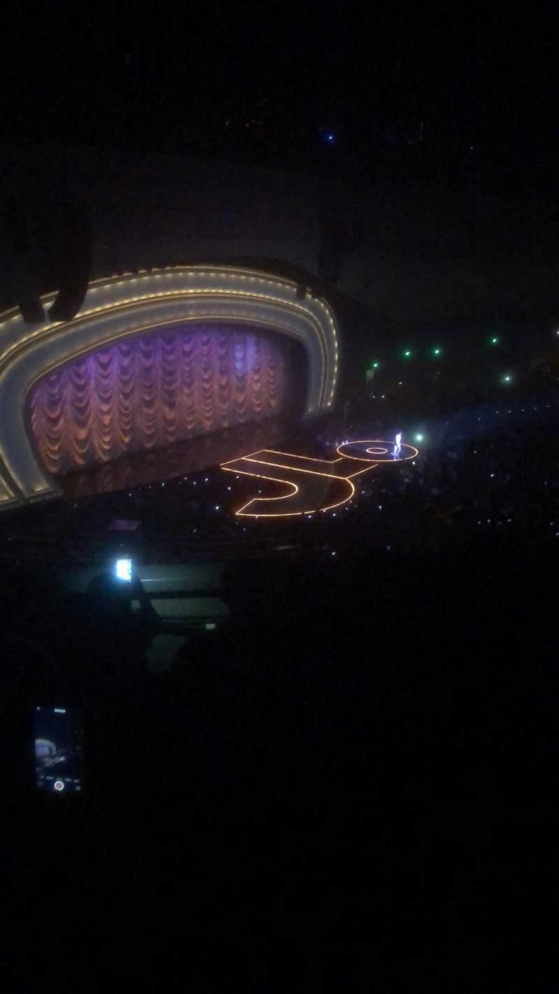 Vista sentada para Zappos Theater Secção 313