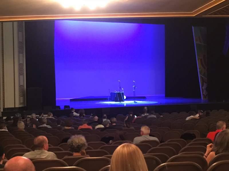 Vista sentada para Taft Theatre Secção Orchestra 2 Fila AA Lugar 12