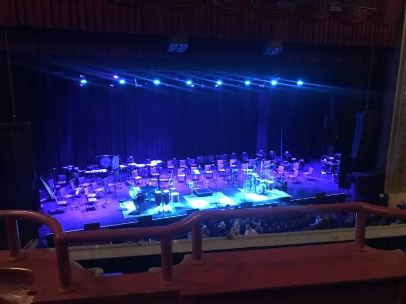 Vista sentada para Chicago Theatre Secção LOGE3L Fila BB Lugar 315