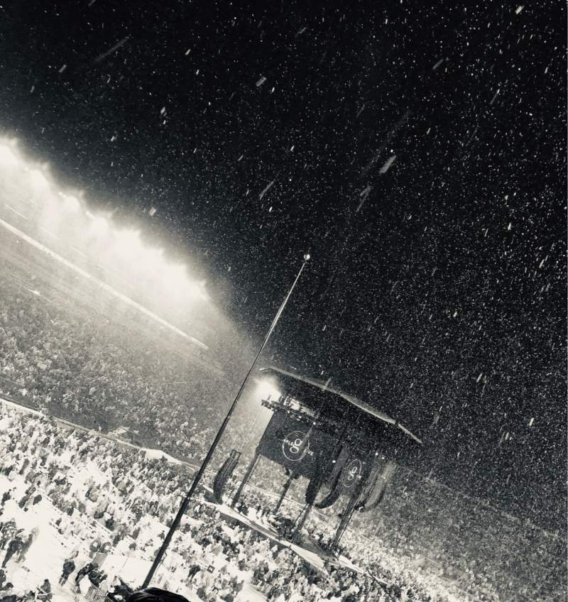 Vista sentada para Notre Dame Stadium Secção 16 Fila 52 Lugar 8