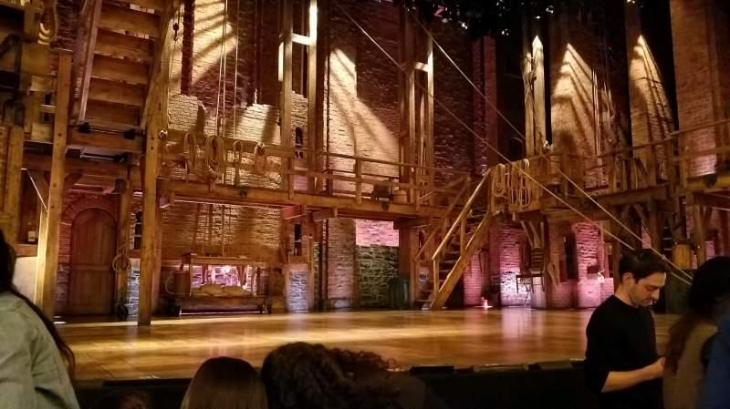Vista sentada para Richard Rodgers Theatre Secção Orchestra L Fila C Lugar 5