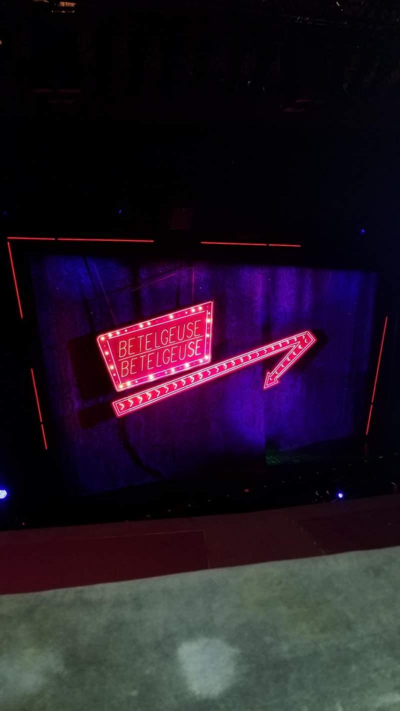Vista sentada para National Theatre (DC) Secção Balcony Fila A Lugar 11