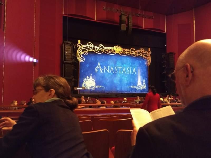 Vista sentada para The Kennedy Center Opera House Secção Orchestra Fila W Lugar 7