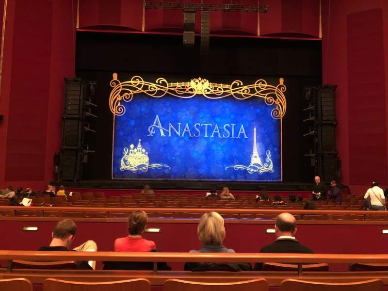 Vista sentada para The Kennedy Center Opera House Secção Orch Fila U Lugar 117