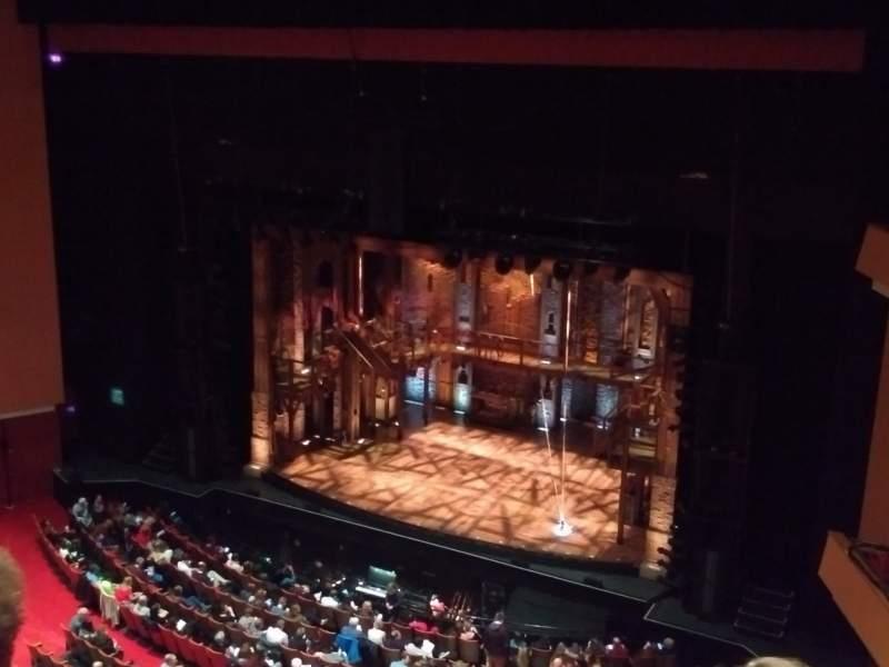 Vista sentada para Durham Performing Arts Center Secção Balcony 10 Fila C Lugar 210
