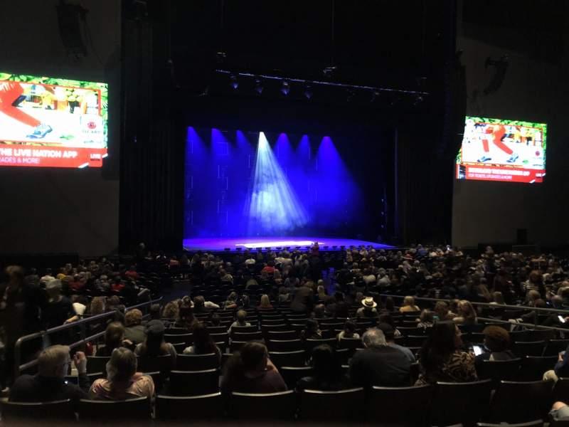 Vista sentada para Arizona Federal Theatre Secção 5 Fila 27 Lugar 12-13