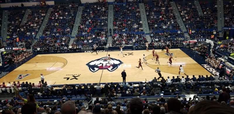 Vista sentada para XL Center