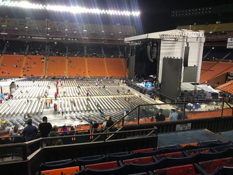 Vista sentada para Aloha Stadium Secção LL Blue Fila 35 Lugar 7