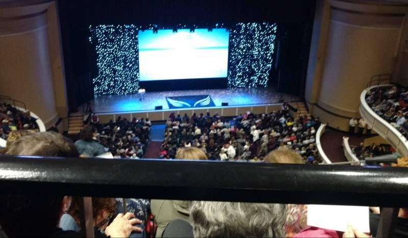 Vista sentada para Merrill Auditorium Secção 3 Fila j Lugar 10