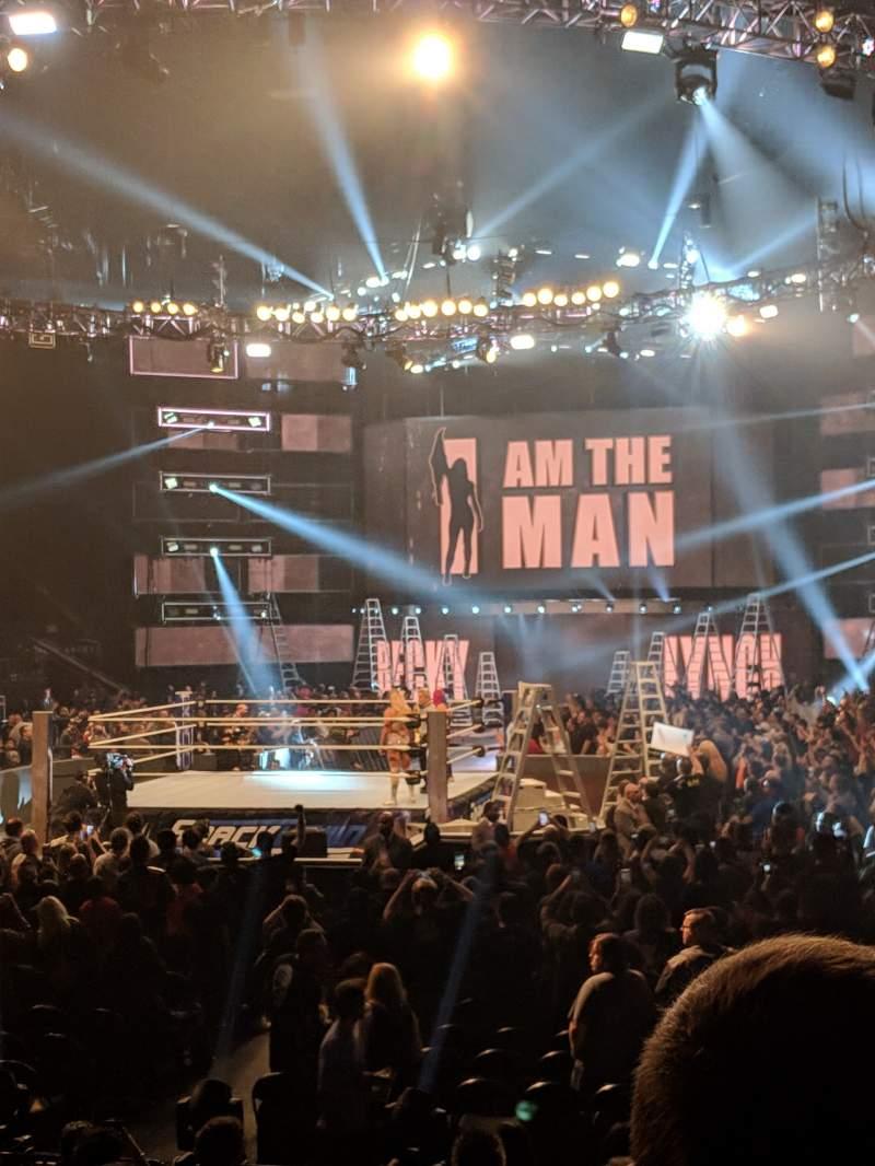 Vista sentada para T-Mobile Arena Secção 12 Fila B Lugar 2