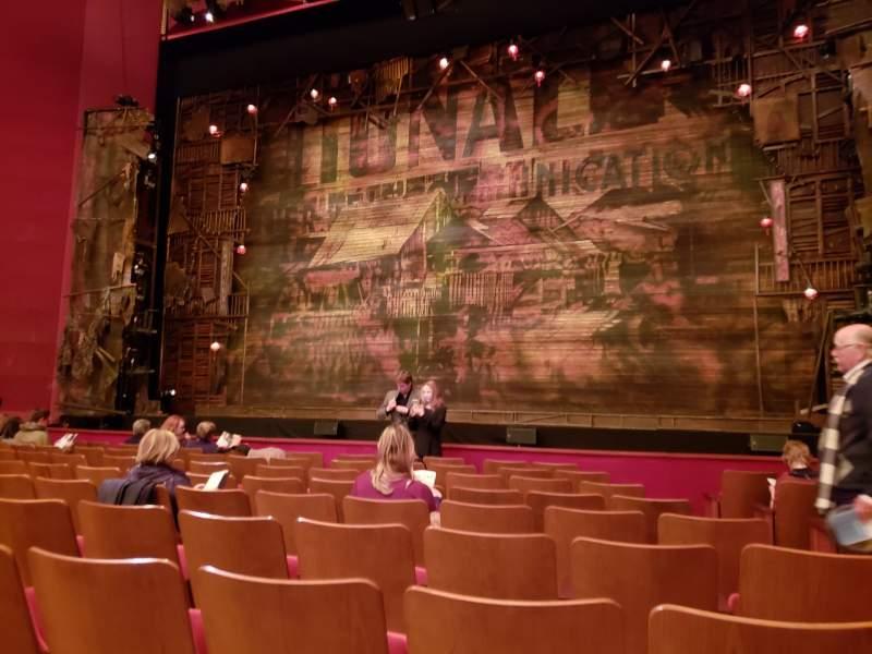 Vista sentada para The Kennedy Center Opera House Secção Orchestra Fila N Lugar 104