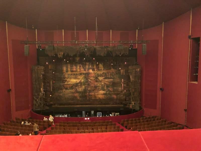 Vista sentada para The Kennedy Center Opera House Secção Tier 1 Fila B Lugar 207