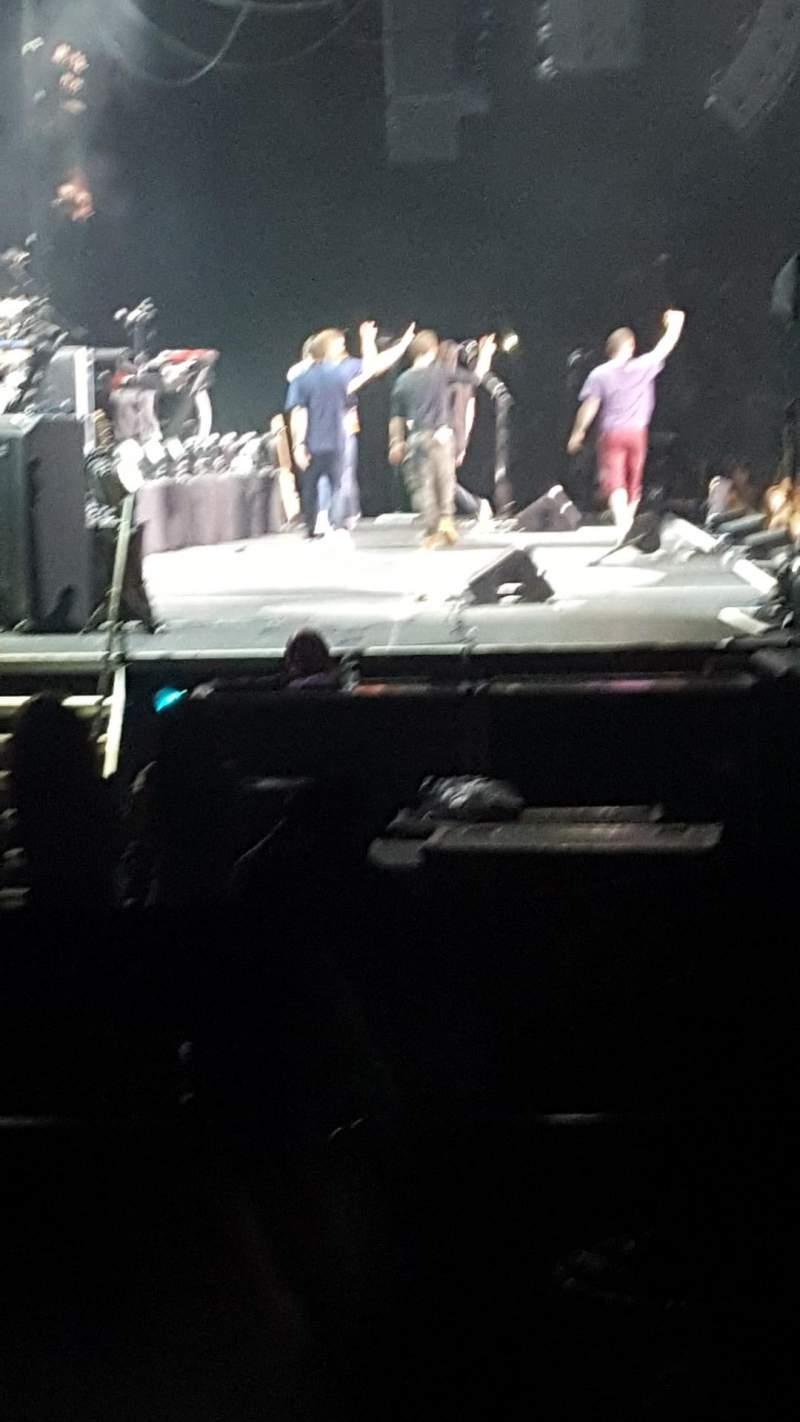Vista sentada para Hard Rock Live at Etess Arena Secção 214 Fila D