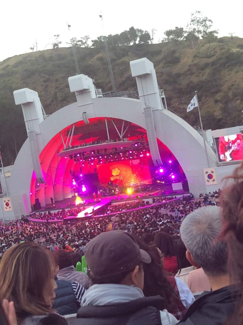 Vista sentada para Hollywood Bowl Secção F1