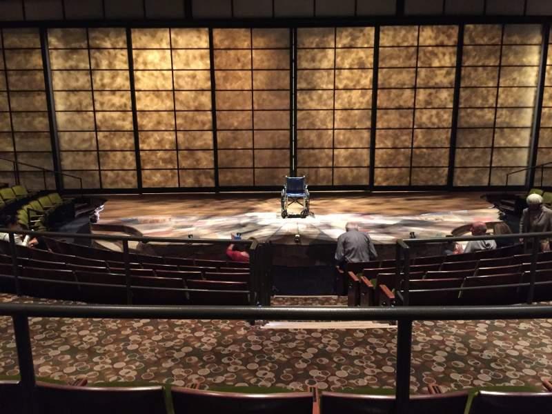 Vista sentada para mark taper forum Secção Level A Fila G Lugar 105