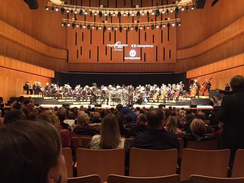 Vista sentada para Holland Performing Arts Center Secção Orchestra Fila Q Lugar 111