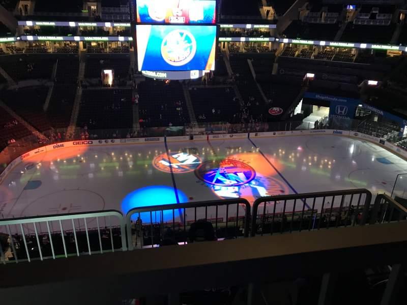 Vista sentada para Nassau Veterans Memorial Coliseum
