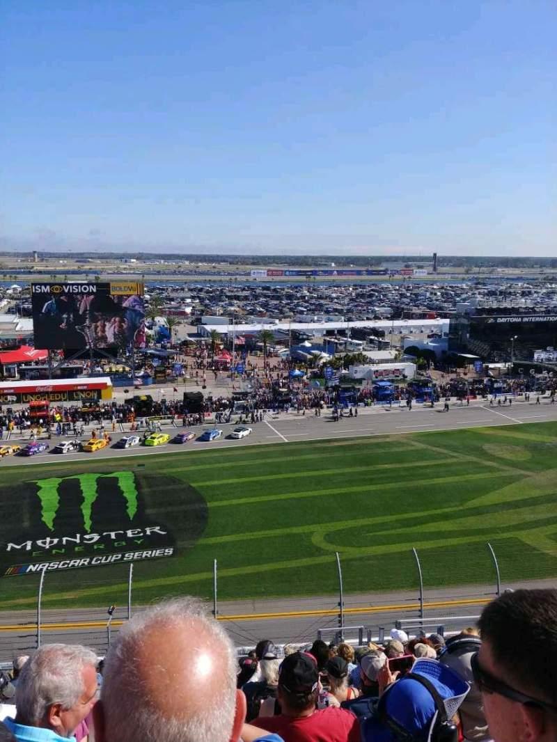 Vista sentada para Daytona International Speedway Secção 342 Fila 23 Lugar 7