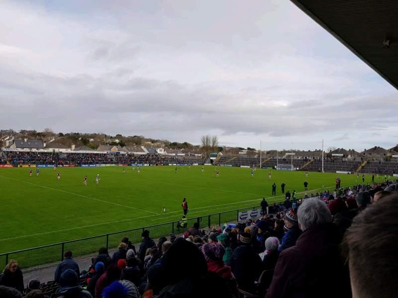 Vista sentada para Pearse Stadium Secção K Fila R Lugar 5