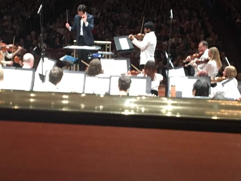Vista sentada para Schermerhorn Symphony Center Secção Orchestra view Fila A Lugar 18