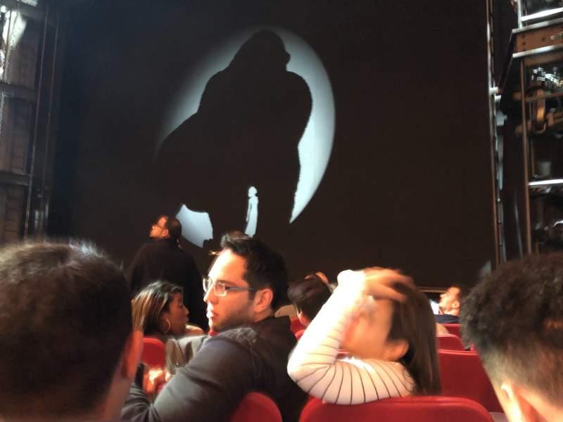 Vista sentada para Broadway Theatre - 53rd Street Secção Orchestra R Fila G Lugar 11