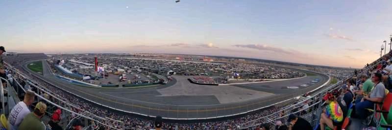 Vista sentada para Daytona International Speedway Secção 489 Fila 29 Lugar 12