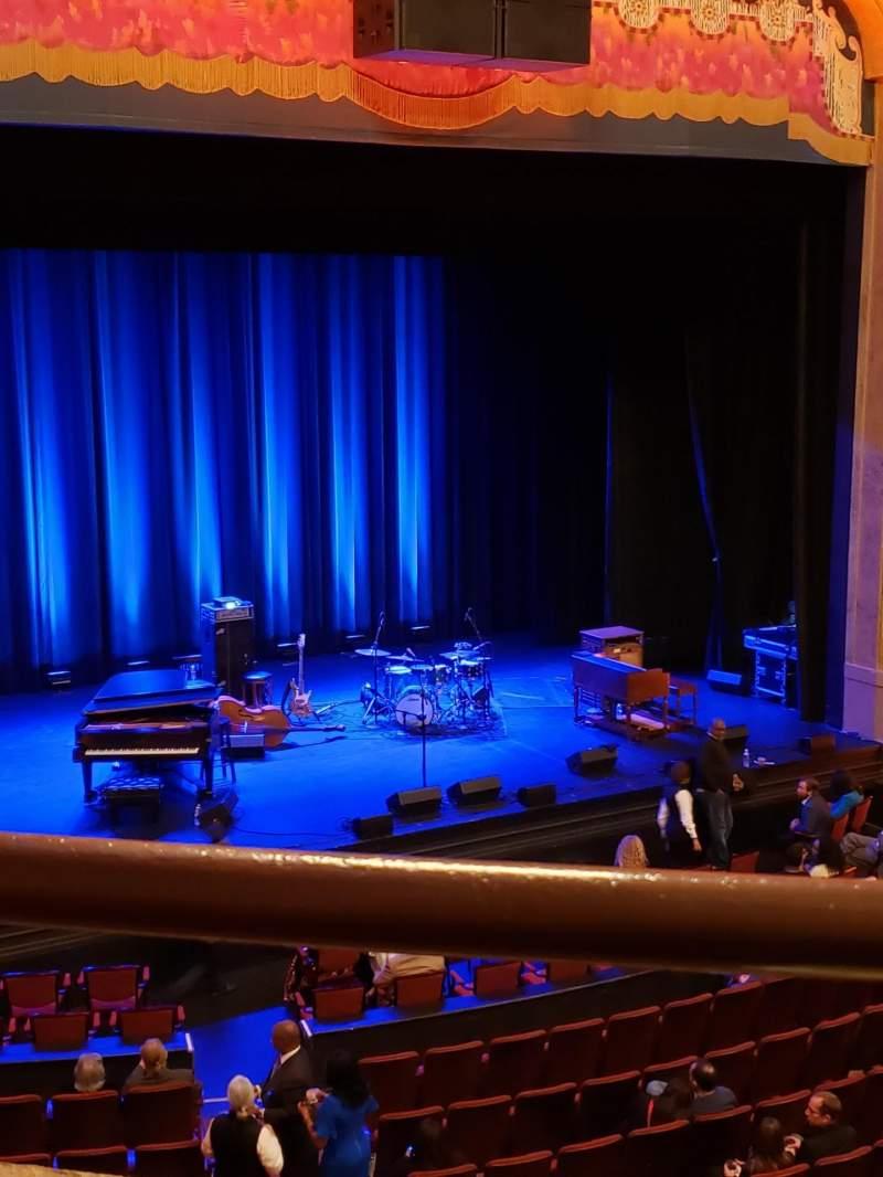 Vista sentada para Balboa Theatre Secção Loge Fila A Lugar 19