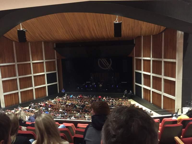 Vista sentada para FirstOntario Concert Hall Secção 1BR2 Fila P Lugar 130