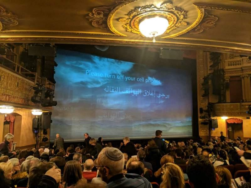 Vista sentada para Ethel Barrymore Theatre Secção Orchestra L Fila O Lugar 11