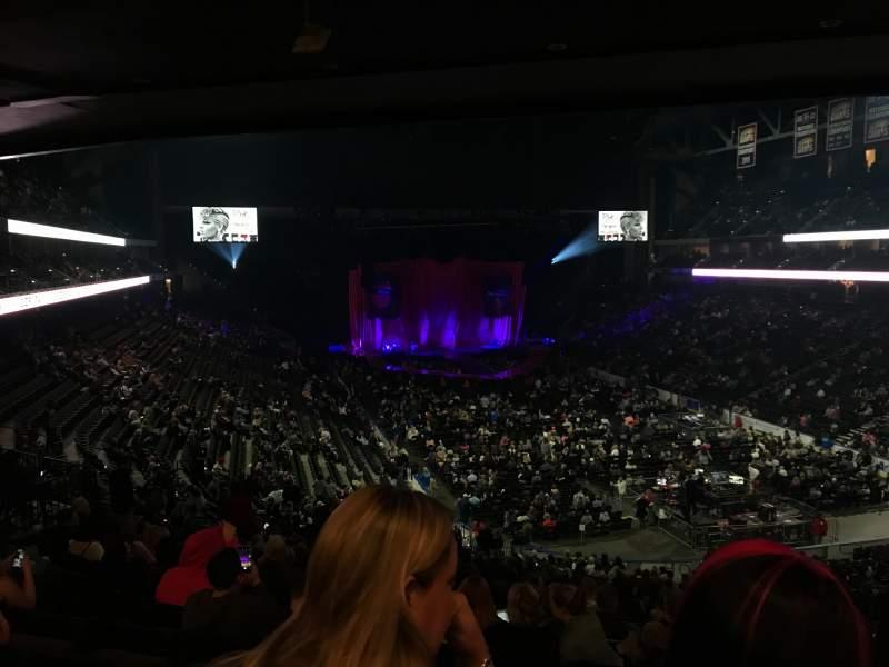 Vista sentada para VyStar Veterans Memorial Arena Secção 110 Fila GG Lugar 13