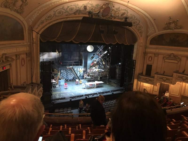 Vista sentada para Merriam Theater Secção Balcony Fila H Lugar 25