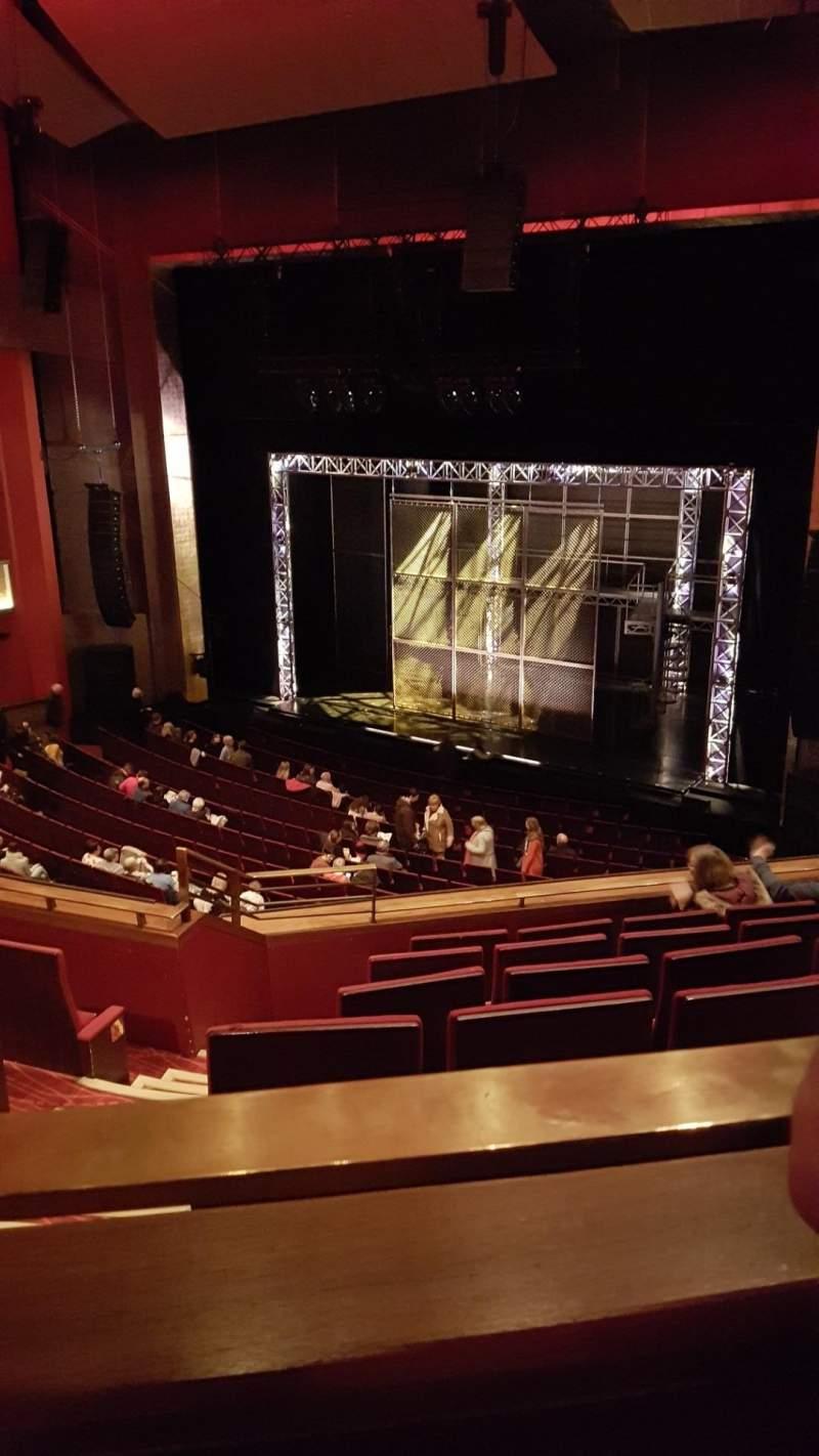 Vista sentada para Bord Gáis Energy Theatre Secção Circle Fila G Lugar 53
