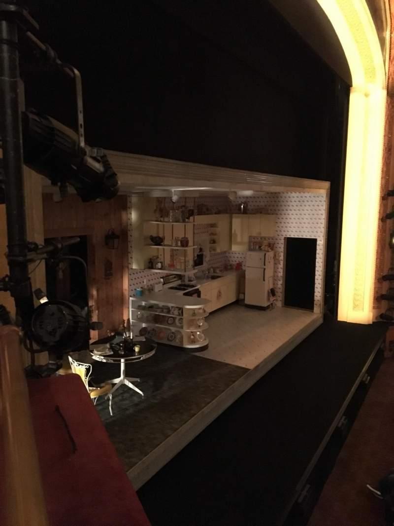 Vista sentada para American Airlines Theatre Secção Left Box Lugar 1