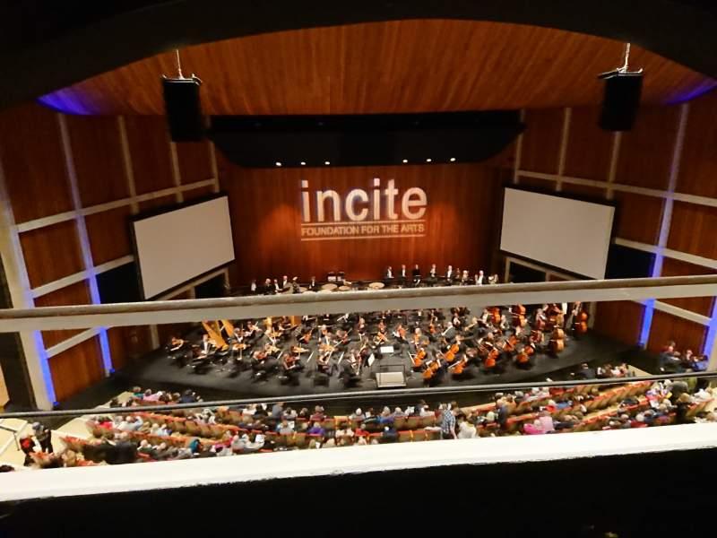 Vista sentada para FirstOntario Concert Hall Secção Left second balcony Fila G Lugar 207
