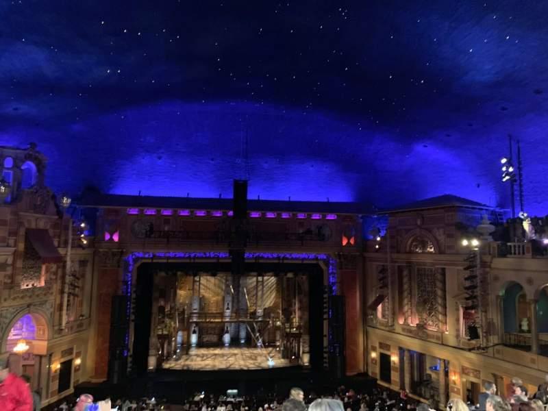 Vista sentada para Saenger Theatre (New Orleans) Secção Balcony center Fila J Lugar 105