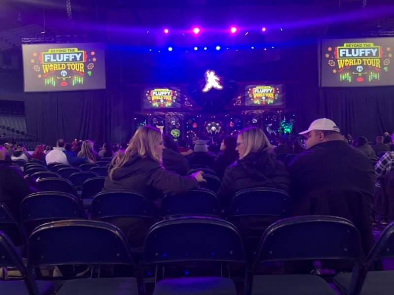 Vista sentada para Allstate Arena Secção 2 Fila 27 Lugar 3