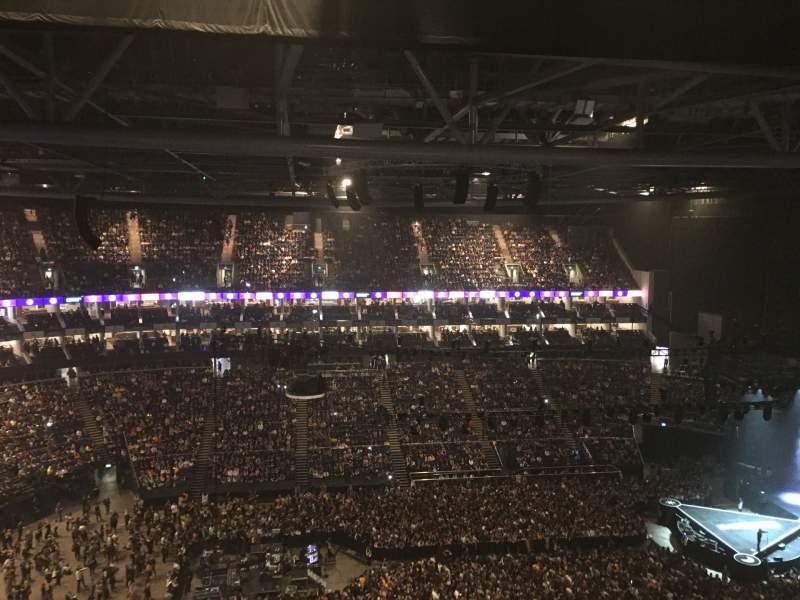 Vista sentada para The O2 Arena Secção 419 Fila N Lugar 899-898