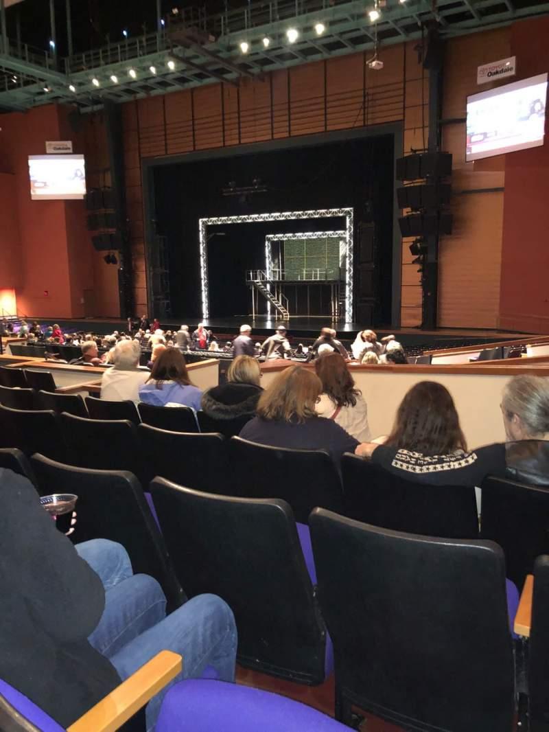 Vista sentada para Toyota Oakdale Theatre Secção 203 Fila JJ Lugar 10