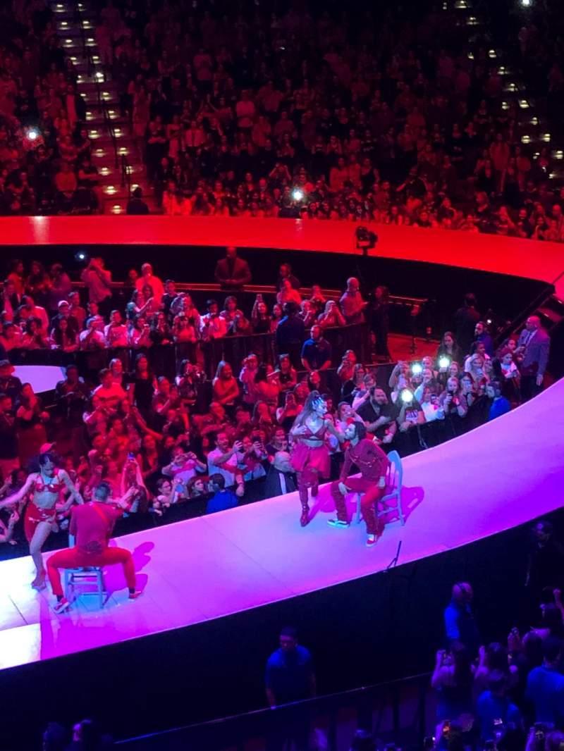 Vista sentada para Mohegan Sun Arena Secção 118 Fila A Lugar 10