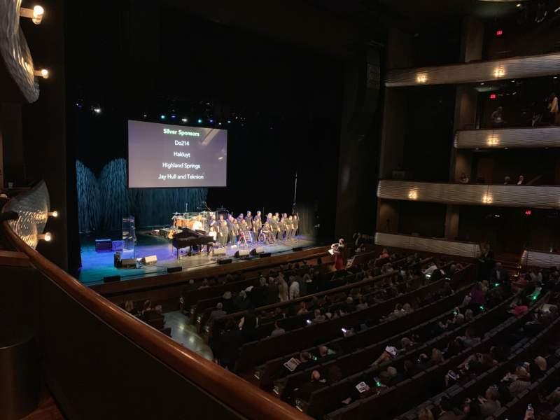 Vista sentada para Winspear Opera House Secção Box D Lugar 4