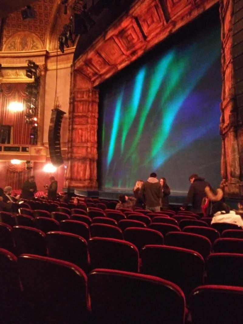 Vista sentada para St. James Theatre Secção Orchestra Right Fila K  Lugar 28