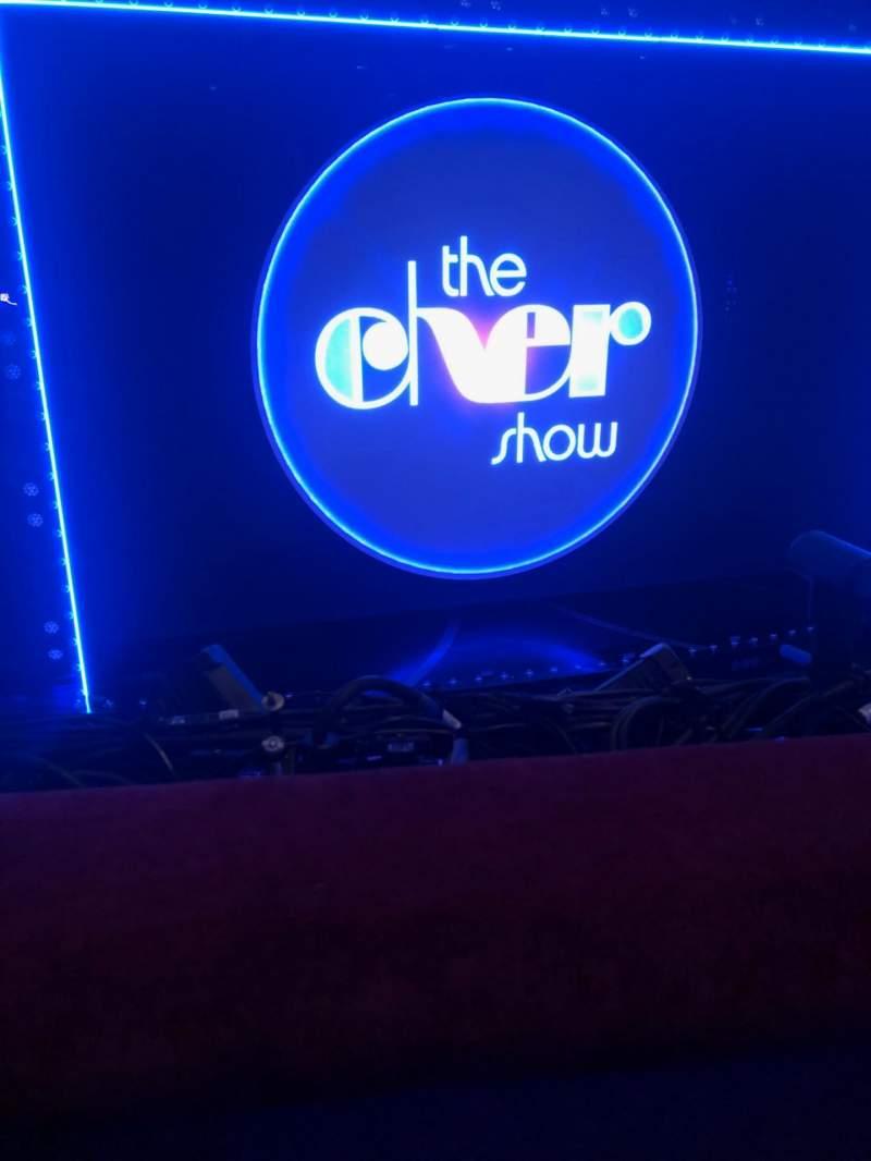 Vista sentada para Neil Simon Theatre Secção Front Mezzanine C Fila A Lugar 105