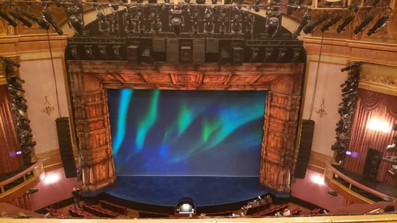 Vista sentada para St. James Theatre Secção Balconu Fila 3 Lugar 106